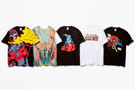Marvel Maniacs T-Shirt Collection