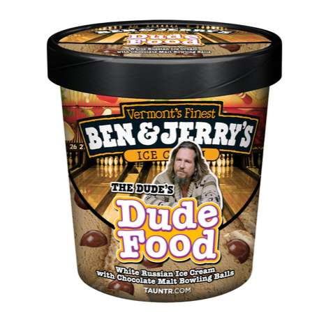 Big Lebowski Ice Cream