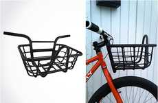 Manly Bike Baskets - The Evo Bicycle Handlebar Offers Perfect Storage for Two-Wheelers