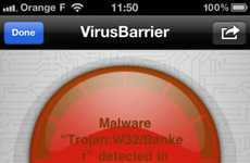 Anti-Malware Apps - VirusBarrier Secures the iPhone from Vicious Viruses