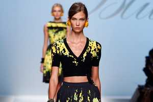 The Blumarine Spring 2012 Collection is Inspired by Latin Fashion