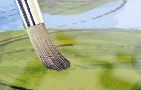 Realistic Digital Paintbrushes - The Sensu Brush is the Ultimate Painting Device for iPad