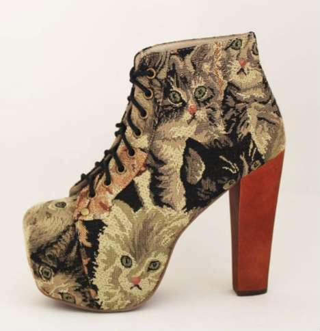 Jeffrey Campbell Lita Cat Tapestry