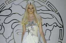 The Versace Spring/Summer 2012 Collection is Shell-Shocked Chic