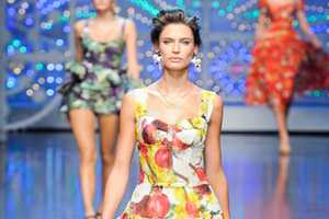 The Dolce & Gabbana Spring 2012 Collection Makes Veggies Fashionable