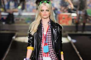 The Dsquared2 Spring 2012 Collection Fuses Western Wear and Grunge Looks