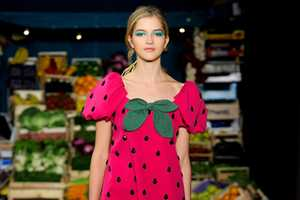 Moschino Cheap and Chic Spring 2012 was Inspired by a Farmers' Market