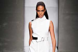The Gianfranco Ferre Spring 2012 Collection is Crisp and Clean