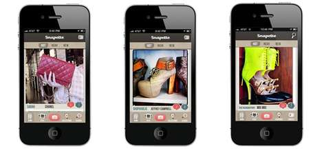 Shopaholic Smartphone Apps - The Snapette App Lets You Share and Suggest Fashion Finds