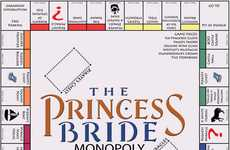 The Princess Bride Monopoly Board is a Fan's Delight