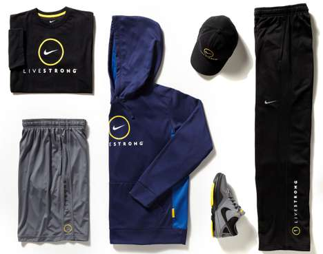 Hi-Tech Jogging Gear - Nike LIVESTRONG 2011 Collection Offers High Performance for Runners