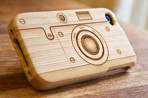 The Camera iPhone Case Protects Gadgets with a Vintage Feel