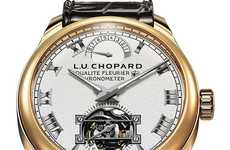 Ultra-Chic Tickers - The L.U.C. Triple Certification Tourbillion Watch is the Picture of Luxury
