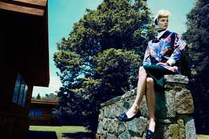 The Vogue Spain October 2011 Editorial is the Perfect Retro Revival