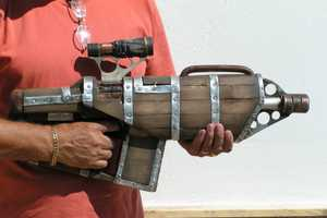 The 'Steampunk Big Daddy Gun' Revamps Nerf with a Rockin' New Look