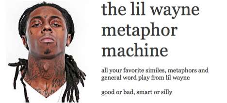 Lil Wayne Metaphor Machine