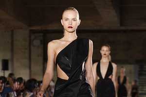 The Anthony Vaccarello Spring 2012 Collection is Boldly Provocative