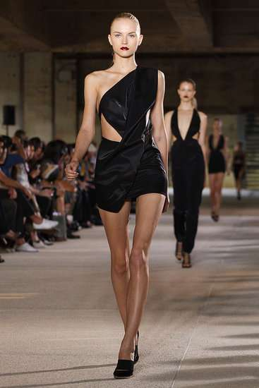 Anthony Vaccarello Spring 2012