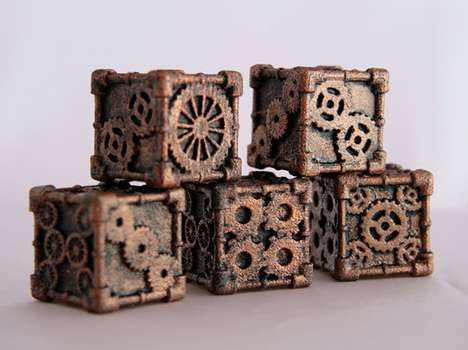 steampunk dice