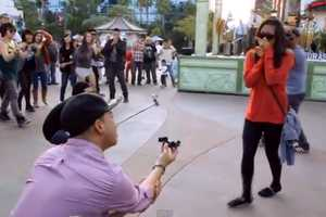 The 'Downtown Disney Flashmob Engagement' is Heartwarming