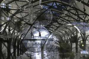 Cloud City by Tomas Saraceno is a Hybrid World for Spiders and People