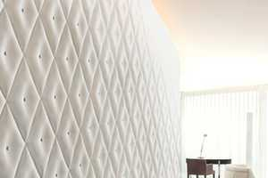 The 3D Surface Wall Panels are Dynamic Dimensional Decor