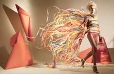 Airborne Sheet Styles - The Matthew Brodie 'Paper Dresses' Collection is Avant-Garde
