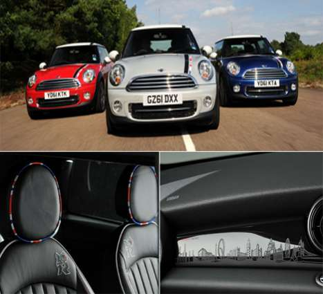 MINI Cooper London Olympics