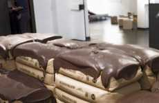 Chocolate-Covered Sofas - 'Let Them Sit Cake' is Marie Antoinette-Inspired