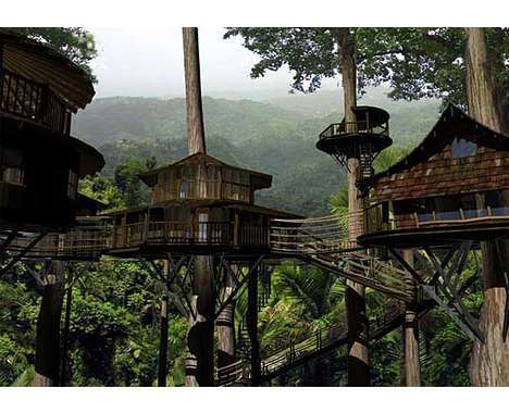 54 Tremendous Towering Treehouses -  From Foliage-Friendly Abodes to Massive Avian Estates