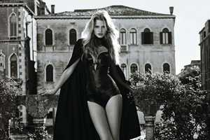 The Lara Stone Vogue Japan 2011 Shoot is Arrestingly Seductive