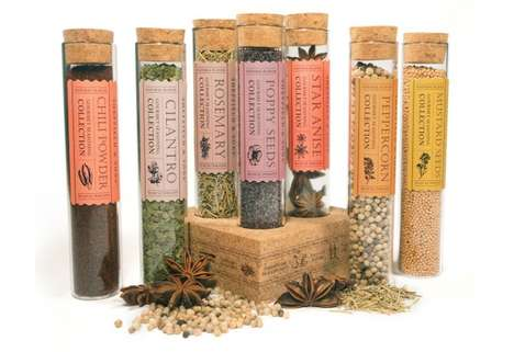 Alchemist Spice Branding - Sheffield & Sons Packaging Evokes an Ingredient Purity