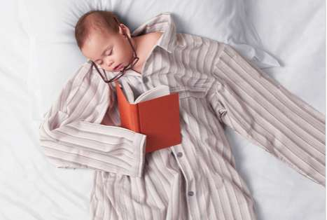 Anti-Aging Sleepvertising - This Comforta Mattresses Campaign Markets Sleeping Like a Baby