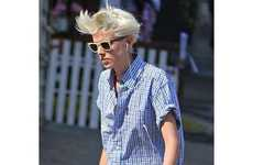 48 Awesome Agyness Deyn Features - From Impersonating Royalty to Androgynous Rebel Rocker Editorials