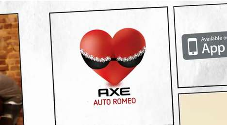 Casanova Conversation Concepts - The Axe Auto Romeo App Will Help Juggle Your Textual Relationships
