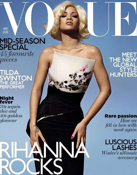 Rihanna Vogue UK November 2011