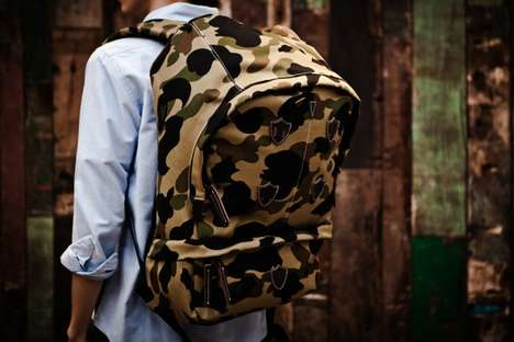 Bape 1st Camo Mountain Backpack
