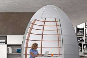 The Tisettanta Nu-Ovo is a Space Creating Pod for Your Pad