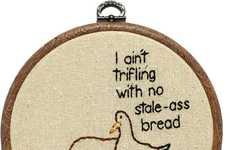 Sassy Sacrilegious Stitchings