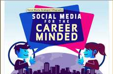 Digital Career-Building Stats - Voltier Creative Demystifies the Professional Power of Social Media