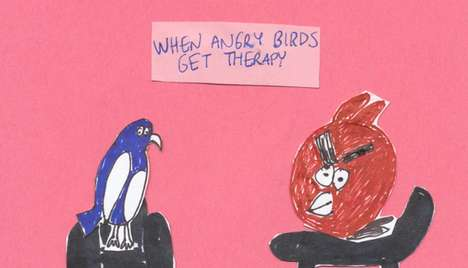 Angry Birds Get Therapy
