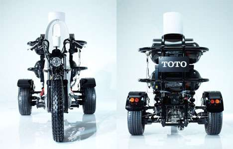 Poop-Powered Motorcycles - The Toilet Bike Neo Harnesses the Power of Your Stool for Energy
