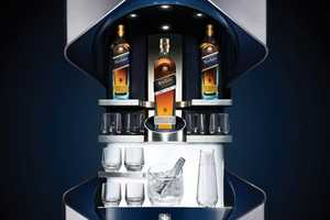 The Porsche Johnnie Walker Blue Bars are for Serious Luxury Sippers