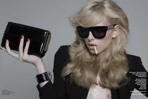 The Andrej Pejic Schon 14 Editorial is Steamy