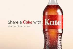 The Coca-Cola 'Share a Coke With a Mate' Campaign is Personalized Packaging