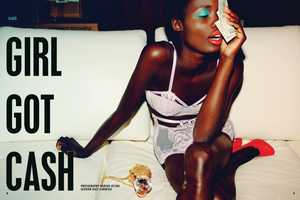 The Tina Johnson 'Girl Got Cash' Spread is Bold and Bright