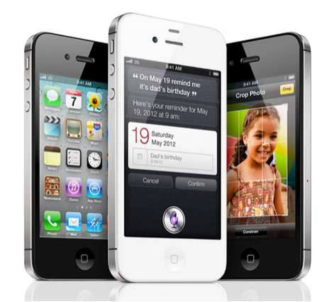 Intelligent Smartphone Redesigns - The iPhone 4S is a Brainier Upgrade to the iPhone 4