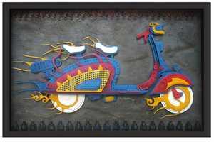 Artist Haribaabu Naatesam Puts to Good Use Old, Rusty and Forgotten Electronics