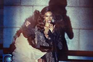 The Wonderland Magazine Chanel Iman Pictorial Flashes Tom Ford Fashion