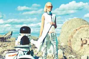 The Madison Magazine 'Space Odyssey' Spread is Intergalactic Glamour